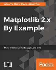 Matplotlib 2.x By Example