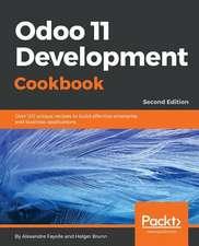 Odoo 11 Development Cookbook