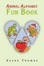 Animal Alphabet Fun Book