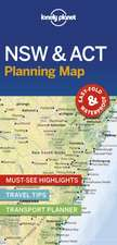 Lonely Planet New South Wales & ACT Planning Map