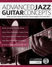 Advanced Jazz Guitar Concepts