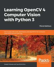Learning OpenCV 4 Computer Vision with Python