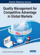 Quality Management for Competitive Advantage in Global Markets