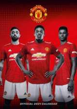 Official Manchester United FC A3 Calendar 2022