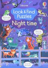 LOOK AND FIND PUZZLES NIGHT TIME