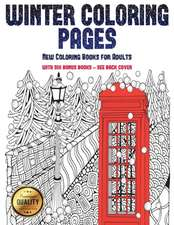 New Coloring Books for Adults (Winter Coloring Pages)