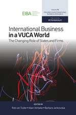 INTL BUSINESS IN A VUCA WORLD