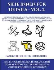 Malbuch für den Kindergarten (Siehe innen für Details - Vol. 2)