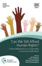 Can We Still Afford Human Rights? – Critical Reflections on Universality, Proliferation and Costs
