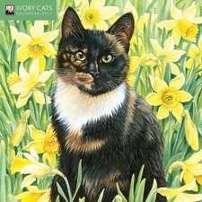 Ivory Cats Mini Wall calendar 2021 (Art Calendar)