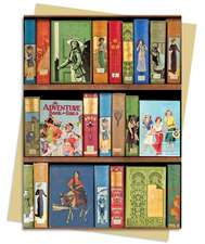 Bodeian Libraries: Girls Adventure Book Greeting Card: Pack of 6