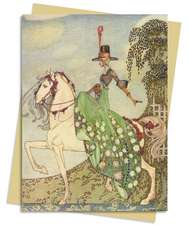 In Powder & Crinoline (Nielsein) Greeting Card: Pack of 6