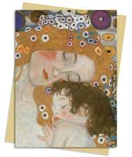 Three Ages Of Woman (Klimt) Greeting Card: Pack of 6