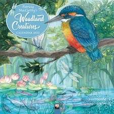 Woodland Creatures by Patricia MacCarthy Wall Calendar 2022 (Art Calendar)