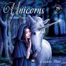 Unicorns by Anne Stokes Wall Calendar 2022 (Art Calendar)