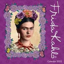 Frida Kahlo Wall Calendar 2022 (Art Calendar)