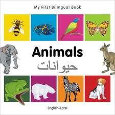My First Bilingual Book - Animals - English-farsi