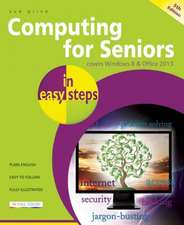 Computing for Seniors in easy steps