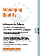 Managing Quality: Operations 06.07