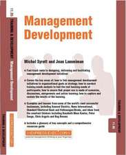 Management Development: Training and Development 11.5