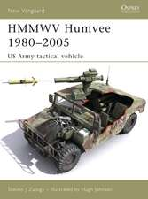 HMMWV Humvee 1980–2005: US Army tactical vehicle