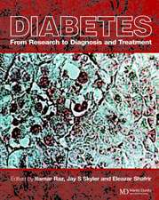 Diabetes: From Research to Diagnosis and Treatment