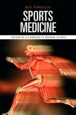 Key Topics in Sports Medicine