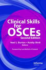 Clinical Skills for Osces, Second Edition:  Diagnosis and Therapy