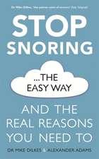 Stop Snoring The Easy Way