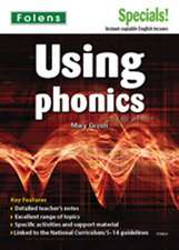 Secondary Specials!: English - Using Phonics (11-14)