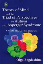 Theory of Mind and the Triad of Perspectives on Autism and Asperger Syndrome:  A View from the Bridge