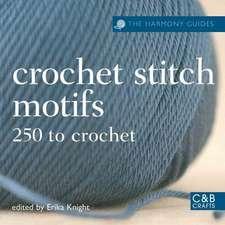 Crochet Stitch Motifs