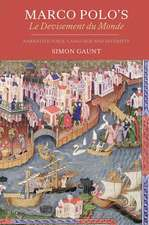 Marco Polo`s Le Devisement du Monde – Narrative Voice, Language and Diversity