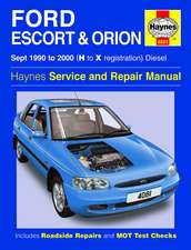 Jex, R: Ford Escort and Orion Diesel Service Repair Manual