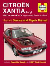 Citroen Xantia Petrol and Diesel Service and Repair Manual: Citroën Xantia Petrol & Diesel (93 - 01) K to Y