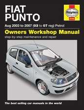 Fiat Punto Petrol (Aug 03 - 07) 03 To 07: Fiat Punto Petrol (Aug 03 - 07) 03 to 07