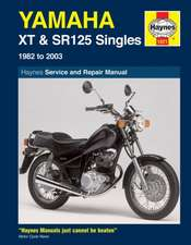 Yamaha XT & SR125 (82 - 03) Haynes Repair Manual