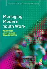 Managing Modern Youth Work