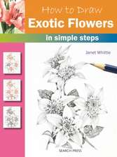 How to Draw Exotic Flowers: in simple steps