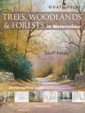 Trees, Woodland & Forests in Watercolour:  Techniques, Patterns and Samplers