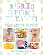 The Big Book of Recipes for Babies, Toddlers & Children: 365 Quick, Easy and Healthy Dishes