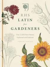RHS Latin for Gardeners