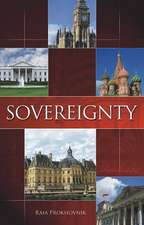 Sovereignty:  History and Theory