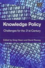 Knowledge Policy: Challenges for the 21st Century
