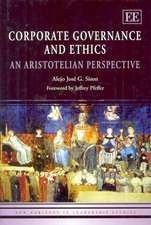 Corporate Governance and Ethics: An Aristotelian Perspective