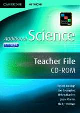 Science Foundations Additional Science Teacher File CD-ROM