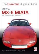 Mazda MX-5 Miata:  Mk1 1989-97 & Mk2 1998-2001