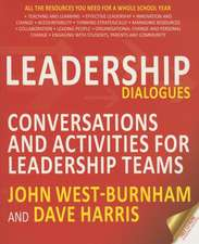 Leadership Dialogues:  Stimulating Conversations to Support Leadership