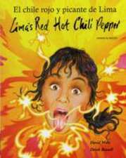 Lima's Red Hot Chilli in American English and Mexican Spanis