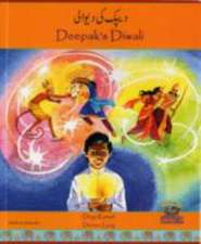Deepak's Diwali in Urdu and English